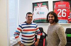 Augenlaser operation iClinic der kanadische Eishockeyspieler Mathew Maione 7